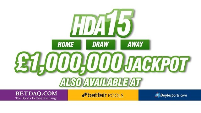 NEAR MISS FOR PUNTER IN £1,000,000 HDA15