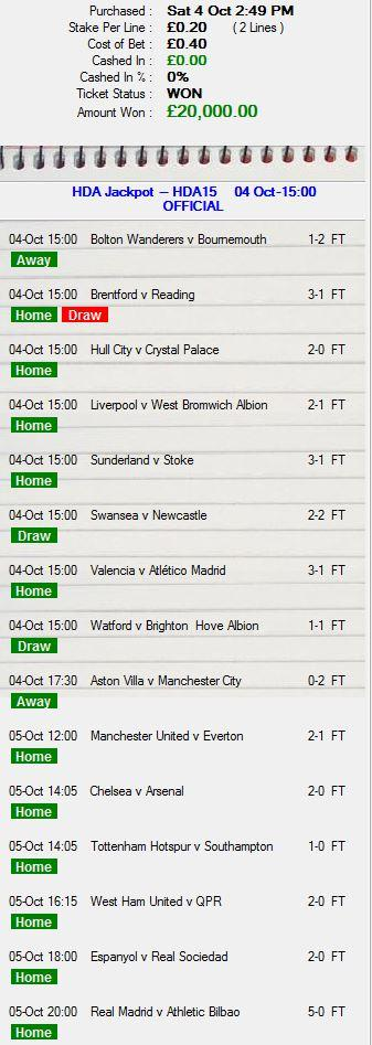 70k from a 40p bet!