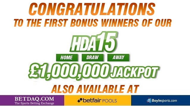 PUNTER TURNS 40p INTO £70,000 IN THE HDA15