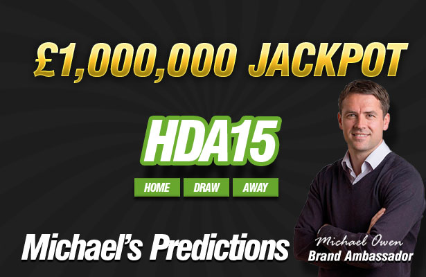 Michael Owen's £1,000,000 HDA15 Selections!