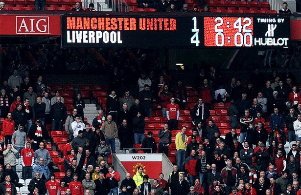 The 7 most memorable Manchester United v Liverpool matches