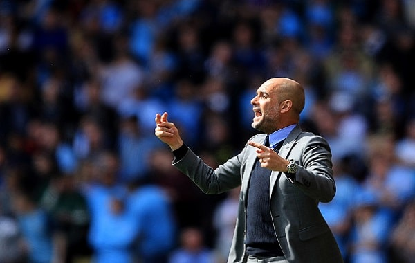 Pep's putting in plans for City title challenge