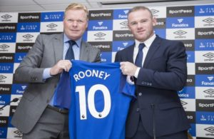 Rooney is back at Everton