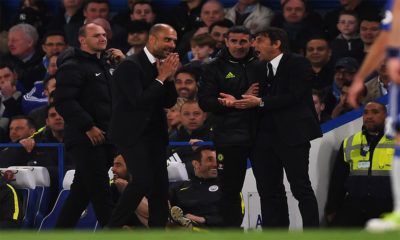 Conte and Pep in heated discussion about their Pick 8 selections