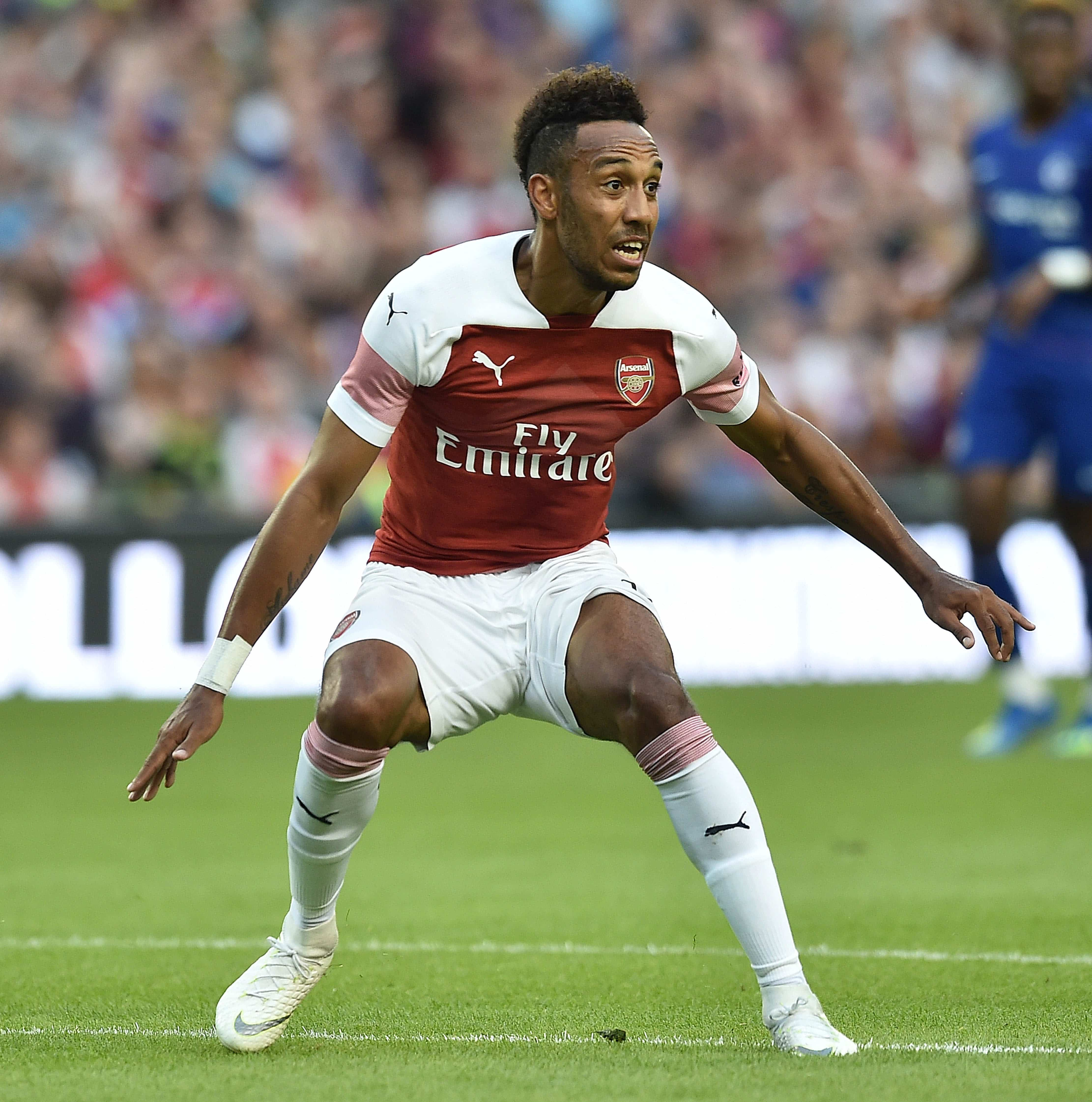 Pierre Emerick Aubamayeng has impressed since joining the Gunners in January this year