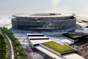 new stadiums in europe